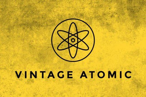 vintage atomic texture brushes brushespack