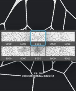 voronoi diagram photoshop brushes ( ) brushespack