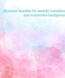 watercolor brush set ( ) brushespack