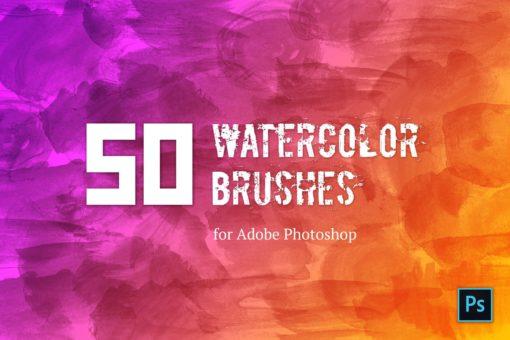 watercolor brush set brushespack