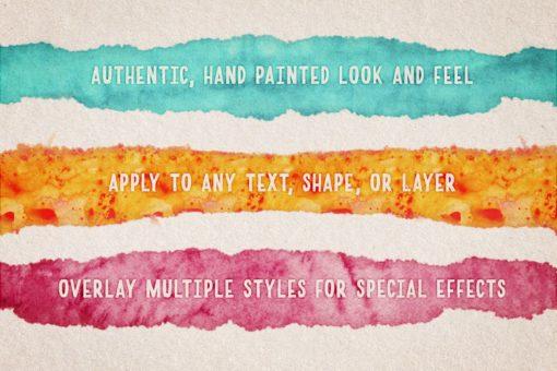 watercolor magic volume ( ) brushespack